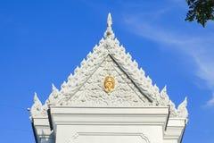 όμορφος ναός Ταϊλανδός γυαλιού δράκων Στοκ Φωτογραφίες