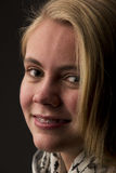 Όμορφος ξανθός έφηβος Στοκ εικόνα με δικαίωμα ελεύθερης χρήσης