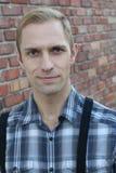 Όμορφος ξανθός στενός επάνω ατόμων Στοκ φωτογραφίες με δικαίωμα ελεύθερης χρήσης