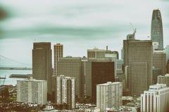 Όμορφος ορίζοντας πόλεων, Σαν Φρανσίσκο Στοκ φωτογραφία με δικαίωμα ελεύθερης χρήσης