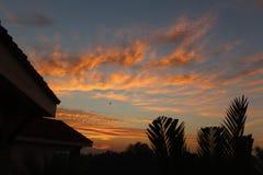 Όμορφος ουρανός ανατολής ηλιοβασιλέματος στοκ φωτογραφία με δικαίωμα ελεύθερης χρήσης
