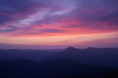 όμορφος ουρανός αυγής Στοκ Εικόνες