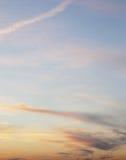 όμορφος ουρανός βραδιού Στοκ εικόνες με δικαίωμα ελεύθερης χρήσης
