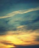 όμορφος ουρανός βραδιού Στοκ φωτογραφία με δικαίωμα ελεύθερης χρήσης