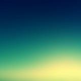 Όμορφος ουρανός ηλιοβασιλέματος/μπλε ταπετσαρία ουρανού ηλιοβασιλέματος χρωμάτων, τρύγος Στοκ Εικόνες