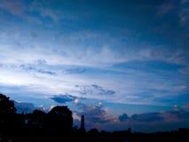 όμορφος ουρανός πρωινού Στοκ εικόνα με δικαίωμα ελεύθερης χρήσης