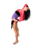 Όμορφος πηγαίνω-πηγαίνετε χορευτής στοκ εικόνα με δικαίωμα ελεύθερης χρήσης