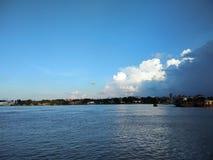 Όμορφος ποταμός ganga στοκ φωτογραφία