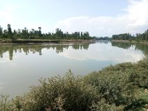 Όμορφος ποταμός Jehlum Στοκ Φωτογραφίες