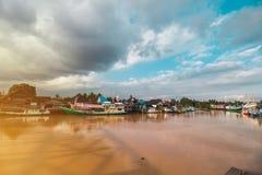 Όμορφος ποταμός Kusan στοκ εικόνες