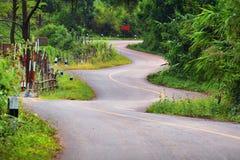 Όμορφος δρόμος τρεκλίσματος στοκ εικόνα