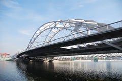 όμορφος σίδηρος γεφυρών Στοκ Εικόνες