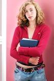 όμορφος σπουδαστής κο&lambda Στοκ φωτογραφία με δικαίωμα ελεύθερης χρήσης