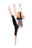 Όμορφος σύγχρονος χορευτής ύφους Στοκ εικόνα με δικαίωμα ελεύθερης χρήσης