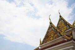 Όμορφος ταϊλανδικός ναός σε Songkhla Στοκ Εικόνα