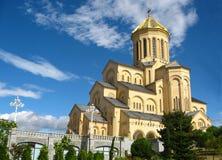 Όμορφος τεράστιος καθεδρικός ναός Στοκ Εικόνες