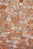 Όμορφος τοίχος ξηρών πετρών Στοκ φωτογραφία με δικαίωμα ελεύθερης χρήσης