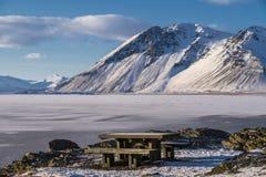 Όμορφος τοποθετήστε arround την πόλη Hofn, Hofn, Ισλανδία στοκ φωτογραφίες