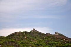 Όμορφος το Σινικό Τείχος Στοκ Εικόνες