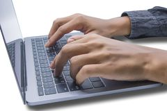 Όμορφος υπολογιστής παιχνιδιού νεαρών άνδρων Ή εκτύπωση οικονομική και β στοκ εικόνα