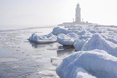 όμορφος φάρος Στοκ φωτογραφία με δικαίωμα ελεύθερης χρήσης