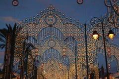 Όμορφος φωτισμός των φω'των Στοκ Φωτογραφία