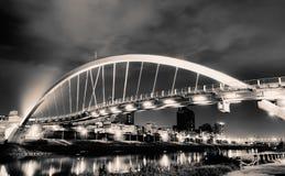 όμορφος χάλυβας γεφυρών &a Στοκ εικόνα με δικαίωμα ελεύθερης χρήσης