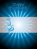 όμορφος χαιρετισμός diwali ε&omicron Στοκ Φωτογραφίες
