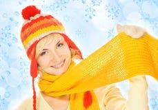 όμορφος χειμώνας κοριτσιών ιματισμού Στοκ εικόνες με δικαίωμα ελεύθερης χρήσης
