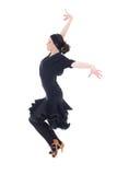 όμορφος χορευτής ενέργειας λατίνος Στοκ εικόνα με δικαίωμα ελεύθερης χρήσης