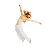 όμορφος χορευτής καυτό&sigmaf Στοκ Φωτογραφία