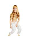 όμορφος χορευτής καυτό&sigmaf Στοκ εικόνες με δικαίωμα ελεύθερης χρήσης