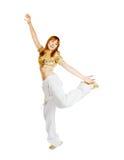 όμορφος χορευτής καυτό&sigmaf Στοκ εικόνα με δικαίωμα ελεύθερης χρήσης