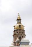 Όμορφος χρυσός πύργος του παλατιού του Mysore Στοκ φωτογραφία με δικαίωμα ελεύθερης χρήσης