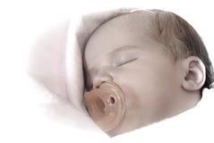 Όμορφος ύπνου μωρών ήρεμος ειρηνικά στοκ φωτογραφίες