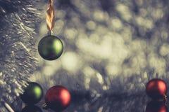 όμορφος eps Χριστουγέννων καρτών 8 τρύγος δέντρων αρχείων συμπεριλαμβανόμενος απεικόνιση Η έννοια μιας εορταστικής φωτογραφίας πο στοκ φωτογραφίες με δικαίωμα ελεύθερης χρήσης