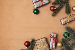 όμορφος eps Χριστουγέννων καρτών 8 τρύγος δέντρων αρχείων συμπεριλαμβανόμενος απεικόνιση   διάστημα χαιρετισμού αντιγράφων καρτών στοκ φωτογραφίες με δικαίωμα ελεύθερης χρήσης