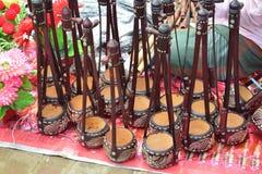 Όμορφος monochord που επιδεικνύεται στην του Μπαγκλαντές τοπική έκθεση στοκ φωτογραφία με δικαίωμα ελεύθερης χρήσης