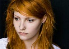 όμορφος redhead Στοκ εικόνες με δικαίωμα ελεύθερης χρήσης