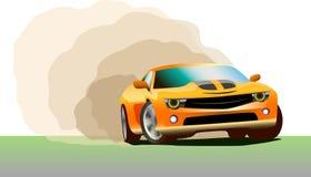 Όμορφος sportcar ελεύθερη απεικόνιση δικαιώματος