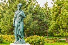 Όμορφο άγαλμα πάρκων στο κομμάτι Mezhyhirye κοντά στο Κίεβο Στοκ φωτογραφίες με δικαίωμα ελεύθερης χρήσης