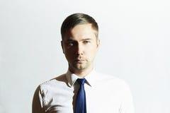 Όμορφο άτομο μόδας Επιχειρηματίας διευθυντής υπαλληλικός Στοκ φωτογραφία με δικαίωμα ελεύθερης χρήσης