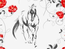 Όμορφο άλογο 02 Στοκ Εικόνα