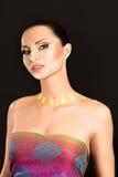 όμορφο έξυπνο κορίτσι makeup Στοκ Φωτογραφίες