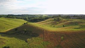 Όμορφο αγροτικό τοπίο απόθεμα βίντεο