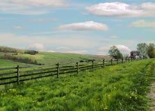 Όμορφο αγρόκτημα αλόγων στοκ φωτογραφίες με δικαίωμα ελεύθερης χρήσης