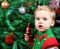 όμορφο αγόρι μωρών Στοκ φωτογραφίες με δικαίωμα ελεύθερης χρήσης