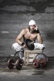 Όμορφο αθλητικό άτομο Στοκ Φωτογραφία