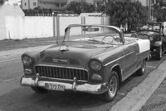 Όμορφο αναδρομικό αυτοκίνητο στην Κούβα Στοκ εικόνες με δικαίωμα ελεύθερης χρήσης