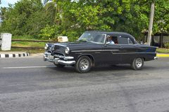 Όμορφο αναδρομικό αυτοκίνητο στην Κούβα Στοκ φωτογραφία με δικαίωμα ελεύθερης χρήσης